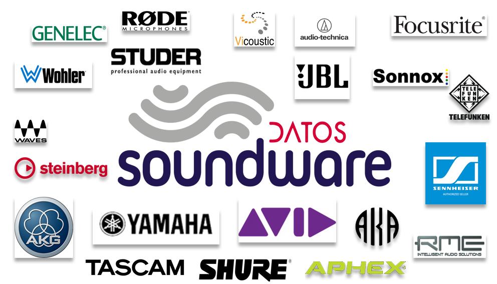 Soundware ofrece un gran catálogo de las mejores marcas del sector a sus clientes