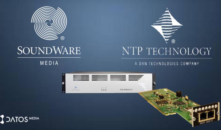 NTP ha depositado su confianza en Soundware como baluarte exclusivo de sus productos.