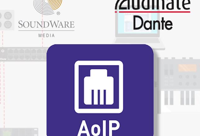 Soundware Media apuesta por Audinate y la calidad en el area de audio por IP (AoIP)