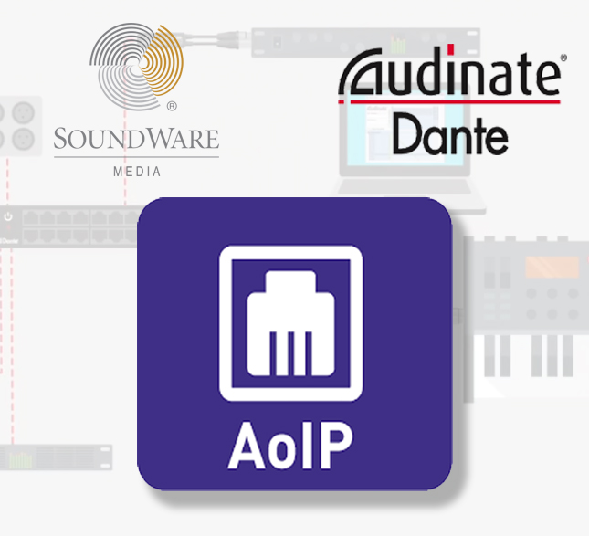 Soundware Media apuesta por Audinate y la calidad en el area de audio por IP (AoIP)