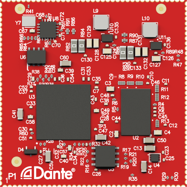 Audinate añade vídeo a sus sistemas Dante con el módulo AV