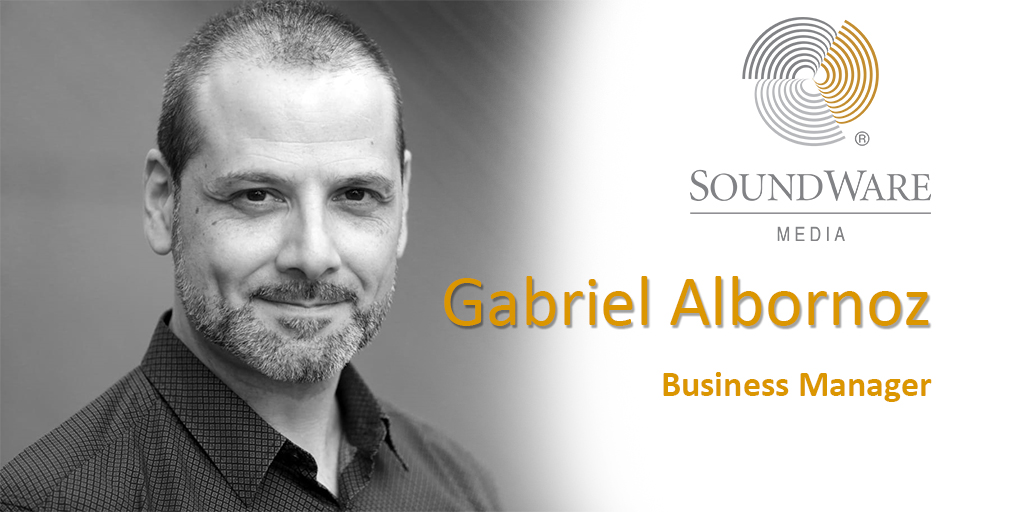 GABRIEL ALBORNOZ, NUEVO BUSINESS MANAGER DE SOUNDWARE MEDIA